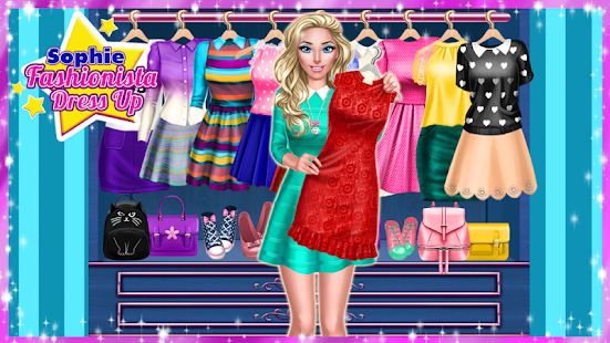 ? Sophie Fashionista - Dress Up Game - náhled