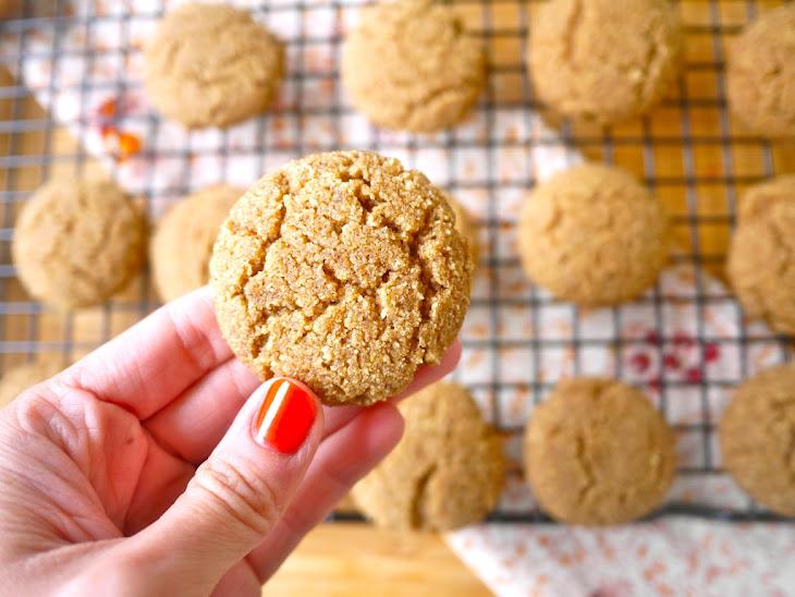 Coconut Flour Ginger Cake Cookies (Paleo, GF) Recipe