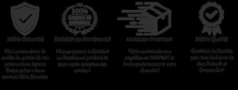 Nos garanties sur www.elitebijoux.fr