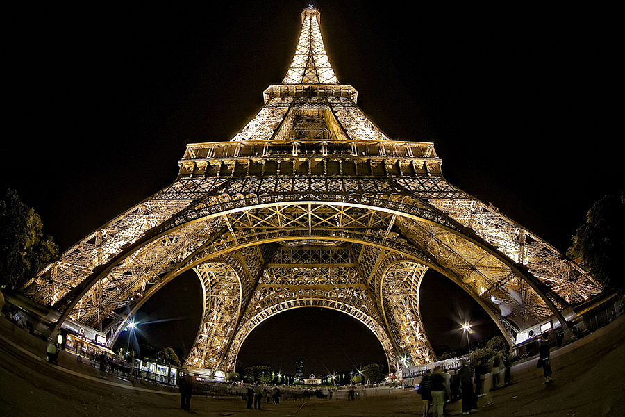 The Tower by Fabio Ornago - City,  Street & Park  Historic Districts ( paris, famous landmarks, tower, night, light )