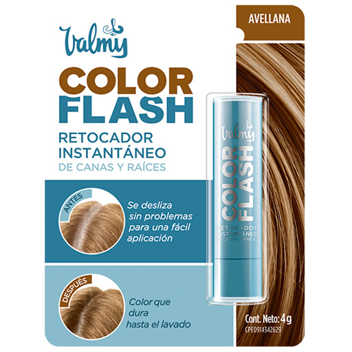 tinte retocador valmy color flash avellana 05 barra 4 gr