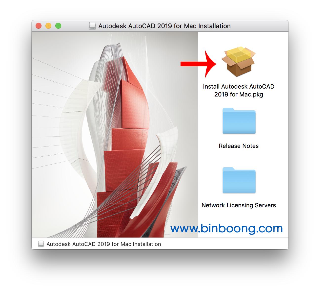 Hướng dẫn cài đặt AutoCAD 2019 cho Mac Full bản quyền