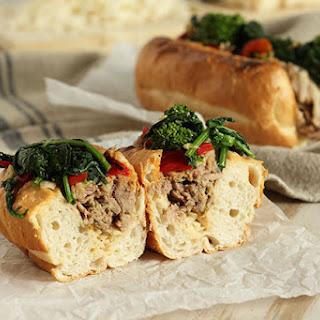 Philly Style Roast Pork Sandwich