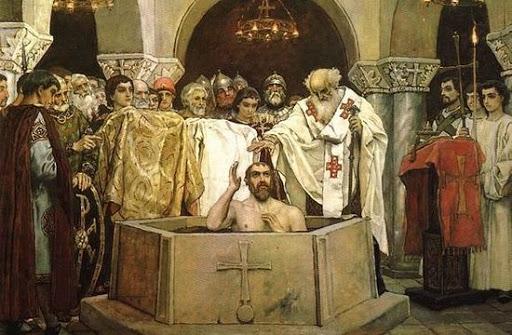 Крещения Владимира