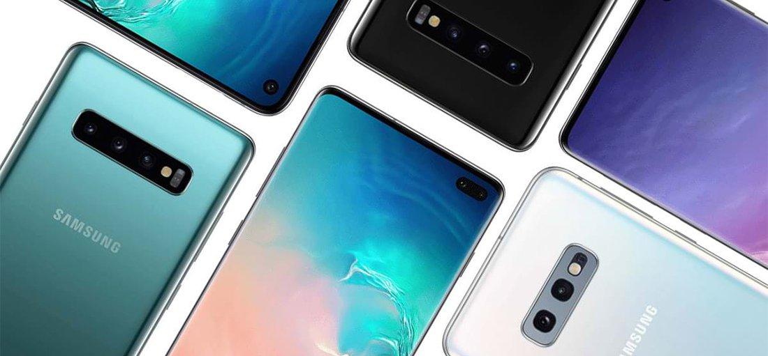 Samsung s10 plus дизайн