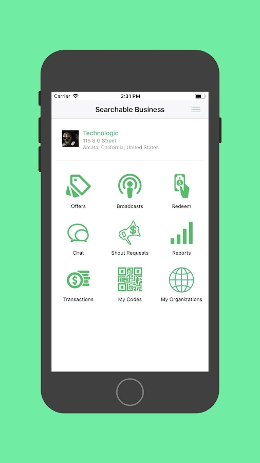 Searchable Business- screenshot
