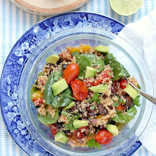 Skinny Roasted Vegetable Quinoa Salad