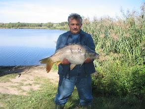 Photo: Terjék János, ?? kilós ponty, 2004.09.11.
