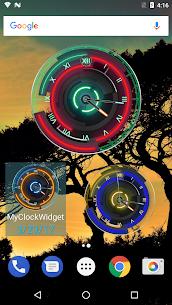 3D Neon Blue Clock 7.5.3 APK Mod Latest Version 3