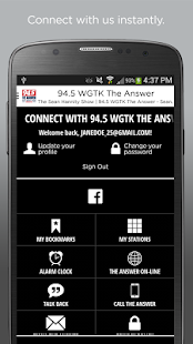 94.5 WGTK The Answer- screenshot thumbnail