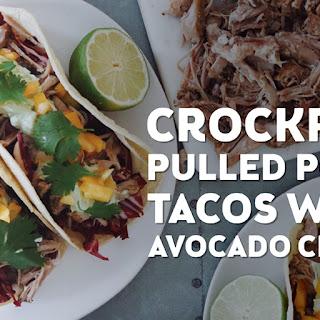 Crockpot Pulled Pork Tacos.