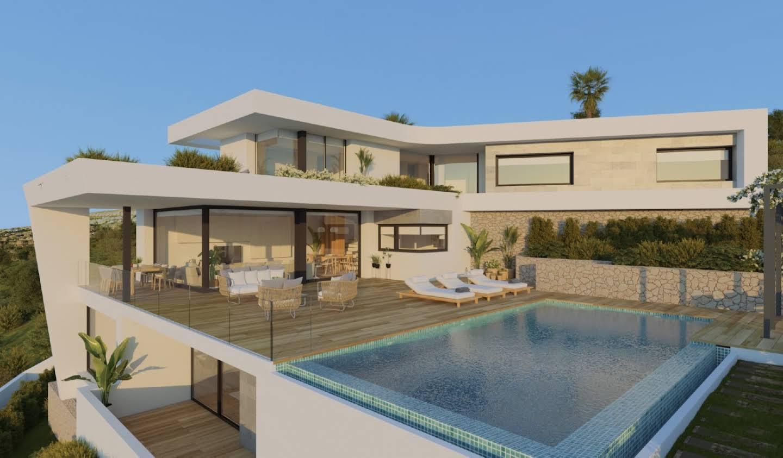Villa avec piscine en bord de mer el Cim del Sol