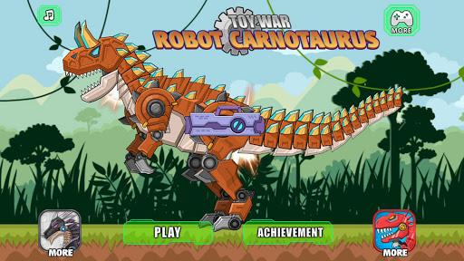 机器牛龙 组装机器恐龙大战|玩休閒App免費|玩APPs
