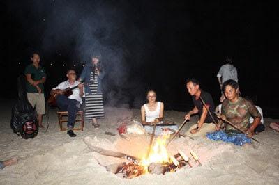 Bãi Dài Nha Trang mở tour cắm trại đêm