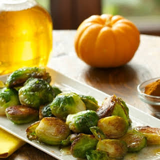 Apple Cider Brussels Sprouts.