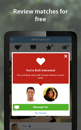 BBWCupid - BBW Dating App 3.1.7.2496 screenshots 11