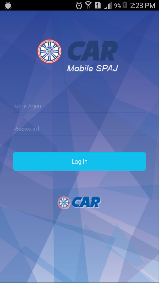 CAR Mobile SPAJ- screenshot