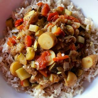 Eggplant Curry or Baingan Bharta Aloha Style