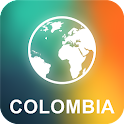 Colombia Offline Map icon