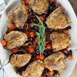 Chicken Fricassee Abruzzi
