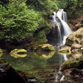 Slap by Bojan K - Landscapes Waterscapes ( slap šum soteska vintgar slovenija voda,  )