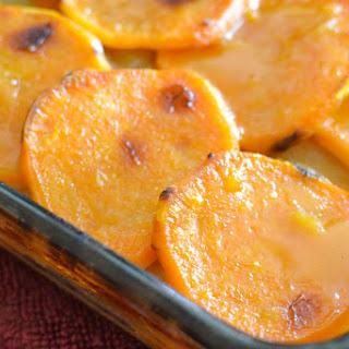 Cider-Glazed Sweet Potato & Apple Bake