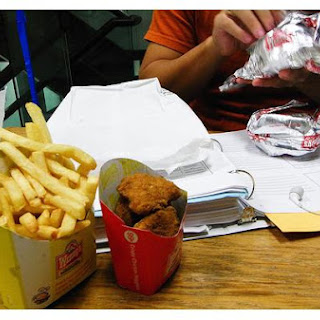 Junk Food Chicken Nuggets