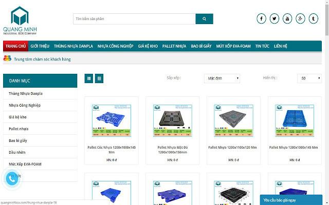 Công ty cổ phần sản xuất bao bì Quang Minh