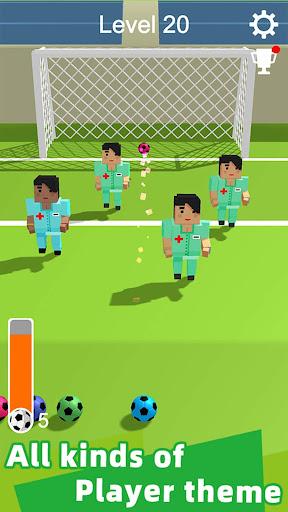 Straight Strike - 3D soccer shot game apkmr screenshots 12