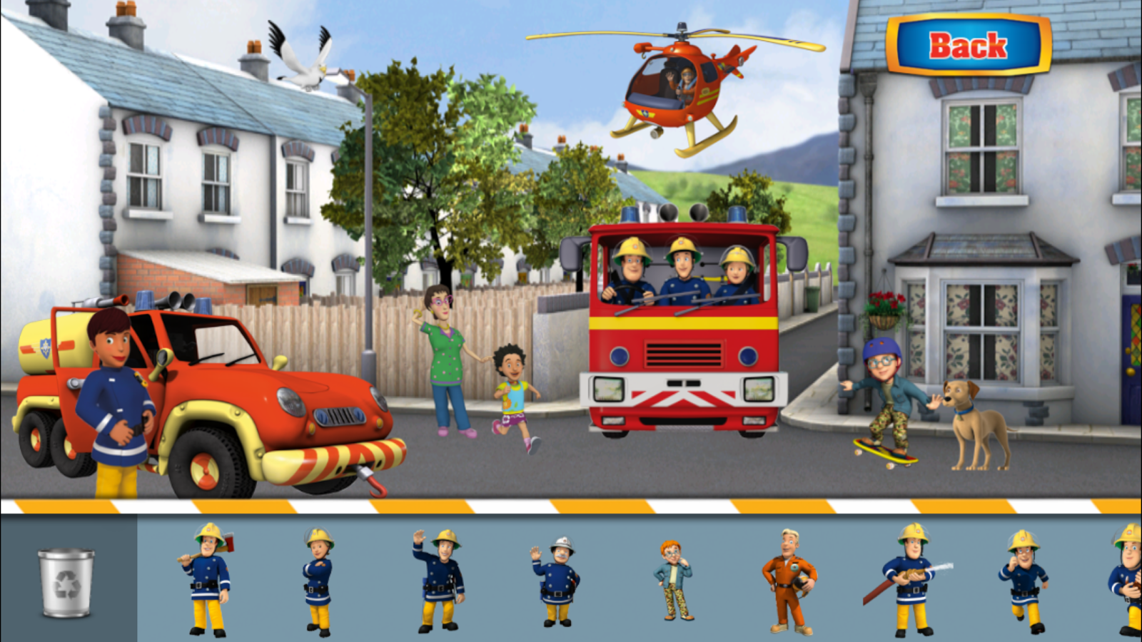 Fireman Sam – Junior Cadet - screenshot