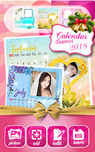 2018 Calendar Photo Frames - náhled