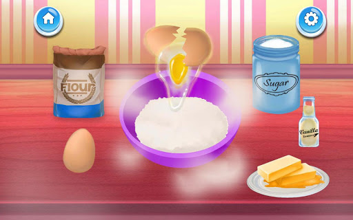 Poppi Birthday Cake Maker Cooking and Decoration 1.3 screenshots 6