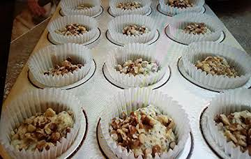 LEMON CHIA SEED LOW CARB WALNUT MUFFINS