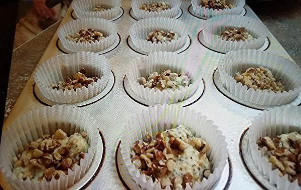 Lemon Chia Seed Low Carb Walnut Muffins Recipe
