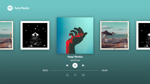 Spotify Android TV APK screenshot 8