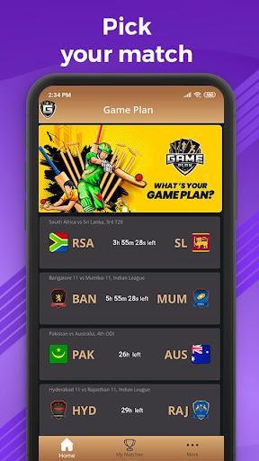 Game Plan (Beta) screenshot 1