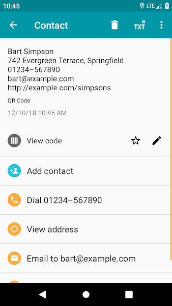 QR & Barcode Reader (Pro) Screenshot Image