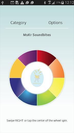 MsKr Soundbites App