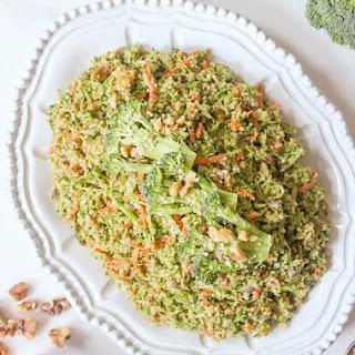 Quinoa Broccoli Slaw