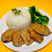 House Special Beef with Steamed Rice