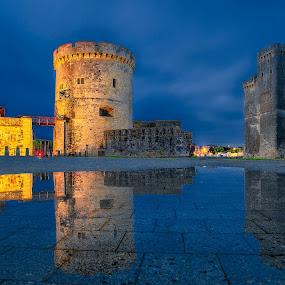 La Rochelle by Sebastien Gaborit - City,  Street & Park  Skylines ( port, tower, la rochelle )