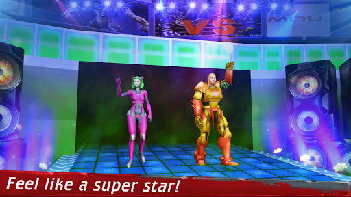 Robot Wrestling 2019: Multiplayer Real Ring Fights apkpoly screenshots 2