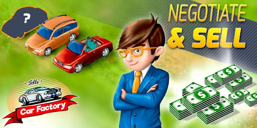 🚗 Idle Car Factory 🚗 10.9 Cheat screenshots 2