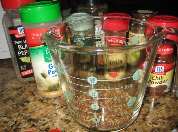 In a small bowl or large measuring cup, mix together all ingredients. This recipe...