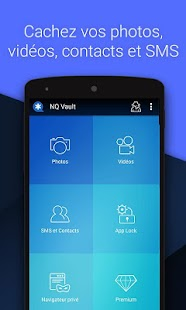 Vault-Cacher SMS/photos/vidéos,AppLock,CloudBackup Capture d'écran