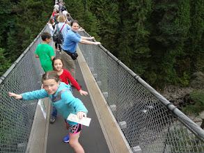 Photo: The bridge was pretty shaky!
