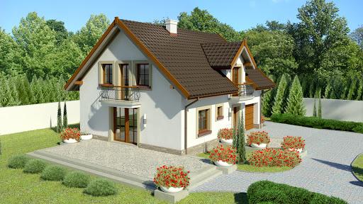 projekt Dom przy Alabastrowej 34