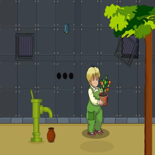 Pretty Boy Saving The Plant
