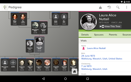 FamilySearch Tree 3.6.4 screenshots 1