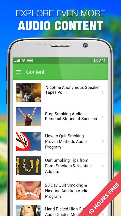 Stop Smoking Quit Cessation Success Stories- screenshot